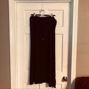 Michael Kors Long Black Skirt